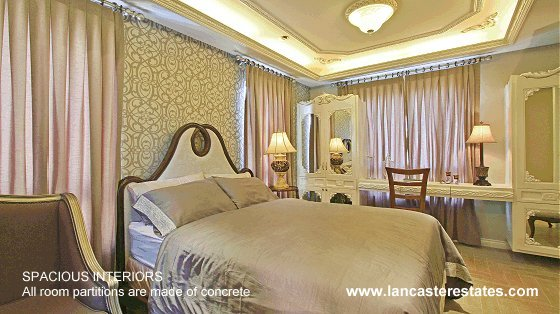 Lancaster Estates Interiors - House and lot for sale in Cavite Philippines